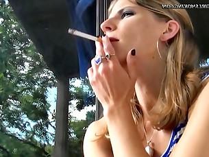 Blonde Fetish Foot Fetish Fuck Mammy MILF POV Smoking
