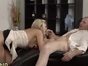 Blonde Blowjob College Daddy Hardcore Juicy Mature Old and Young