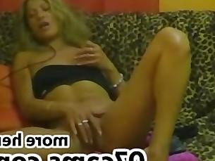 Blonde Fingering Fisting Masturbation Mature MILF Orgasm Solo