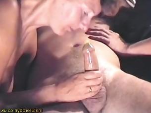18-21 Amateur Blowjob Friends MILF Sucking Threesome
