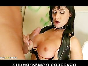 Babe Bathroom Big Tits Brunette Bus Busty Deepthroat Fuck