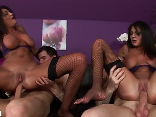 Anal Ass Brunette Big Cock Doggy Style Fuck Hardcore Huge Cock