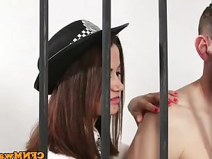 Blowjob Group Sex Handjob Mature MILF Party Slave Uniform